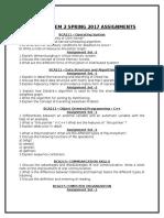 Smu Bca Sem 2 Spring 2017 Assignments
