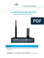 Xiamen Alotcer-AR7088 Router Specification