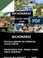 dicionario bichos
