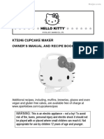 Hello Kitty Cupcake Maker Manual1444413635426
