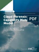 Cloud Forensics Capability Model