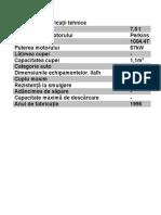 specificatii buldo