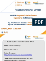 Ultimo Encuentro Tutorial Virtual