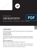 Manual de Usuario Spc Car Bluetooth