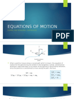 Equations of Motion Tan Nor