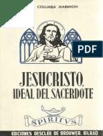 MARMION-Jesucristo Ideal Del Sacerdote