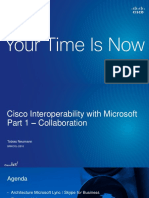 CISCO INTEROPERABILITY WITH MICROSOFT