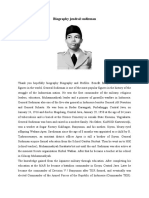 Biography Jendral Sudirman