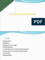 Contrat Administratif