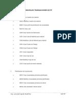 Principales Transacciones de Pp