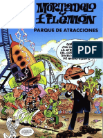 Mortadelo y Filemón (Olé) N°166 - Parque de atracciones