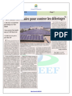 Article Solaire Onee