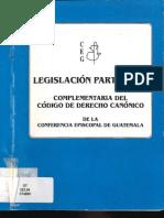Legislacion Particular Conferencia Episcopal de Guatemala