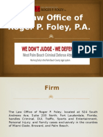 Hire Qualified Criminal Defense Attorney In North Palm Beach - RPFoley