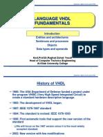 VHDL 2 Fundamentals