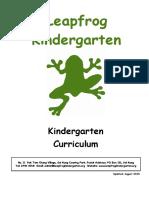 Curriculum New August 2015-2016