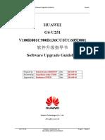 G6-U251 V100R001C900B136CUSTC605D001_NLA_Channel_Software Upgrade Guide_+Ý+¦+²+ÂÍ©Á+-Ú.doc