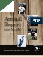 FMWRC Annual Report 2007
