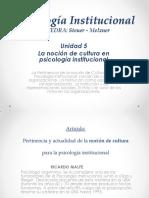 Concepto de Cultura - Ricado Malfé - Gonta y Barela