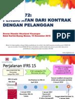 ED PSAK 72_Pendapatan Dari Kontrak Dengan Pelanggan