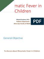 Dr. Edward - Rheumatic Fever in Children