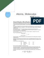 Atoms & Molecules