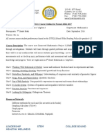 course outline - 803 revised 11 8 16