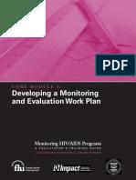 Monitoring HIV-AIDS Programs (Facilitator) - Module 3.pdf