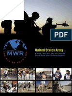 FMWRC Annual Report 2003
