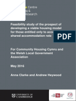 FINAL Report on Viable Housing Models for Under 35s - Final 2016