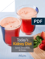 Todays Kidney Diet Juices Smoothies