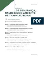 Conteudo Prog Gestao de Seguranca Saude e Meio Ambiente de Trabalho Rural