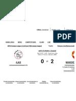 Ajax 0 - 2 Manchester United Match Report - 5-24-17 UEFA Europa League - Goal