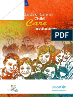 Standards of Care in Child Care Institutions