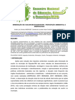 Mineração de Caulim de Equador_RN - Percepção Ambiental e Andragogia