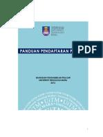 PANDUAN PENDAFTARAN UITM .pdf