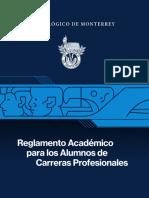 Reglamento Profesional Completo ITESM