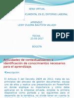 Actividad 3 Lejislacion Documental en El Entorno Laboral