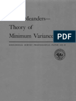River Meanders - Theory of Minimum Variance