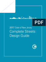 2017 State of New Jersey Complete Streets Design Guide