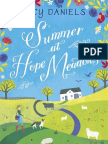 Summer At Hope Meadows - first chapter extract