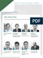 AMC Directors at DSP BlackRock Mutual Funds