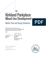 Parkplace Master Plan and Design Guidelines