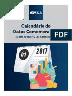 Calendario Datas Comemorativas