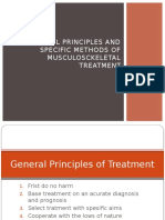 General Principles and Specific Methods of Musculosckeletal Treatment