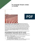 Aprendiendo Lenguaje Visual Líneas Diagonales y Curvas