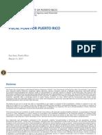 Plan Fiscal de Puerto Rico Certificado