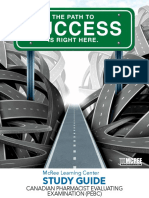 Canadian Pharmacist Evaluating Examination (PEBC) Study Guide
