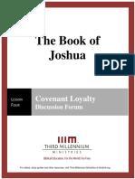 The Book of Joshua – Lesson 4 – Forum Transcript