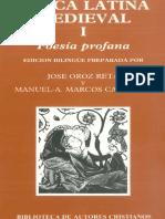 Lirica Latina Medieval i Poesia Profana